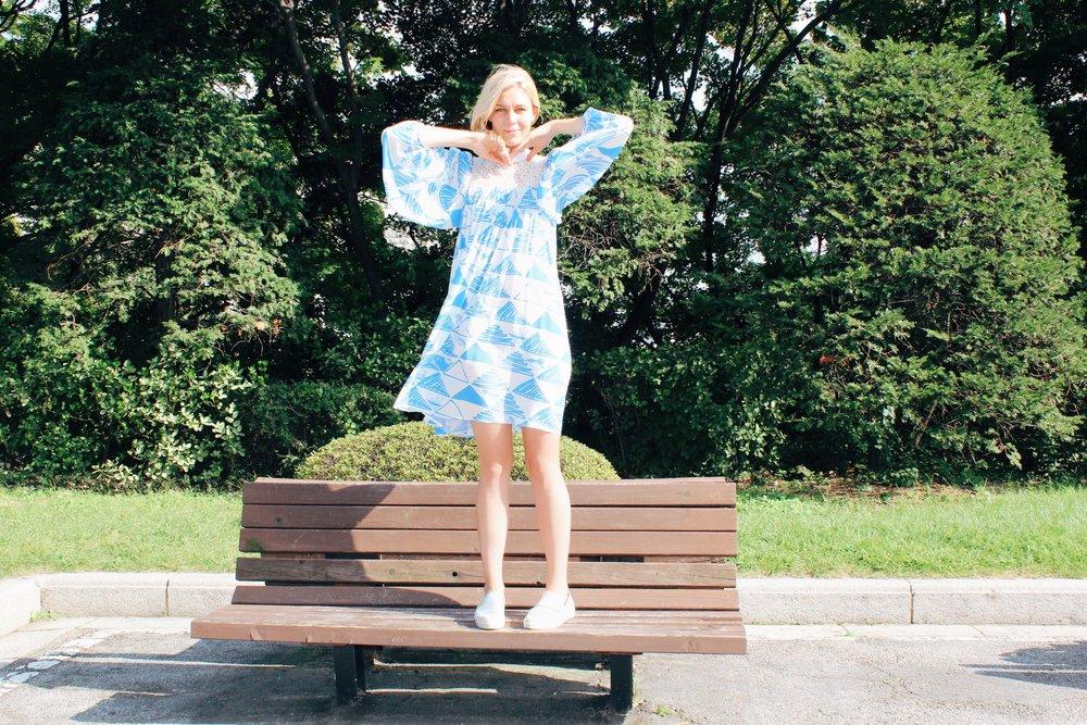 Ivana Moomin Senja Dress | Photo: Cindy Phong