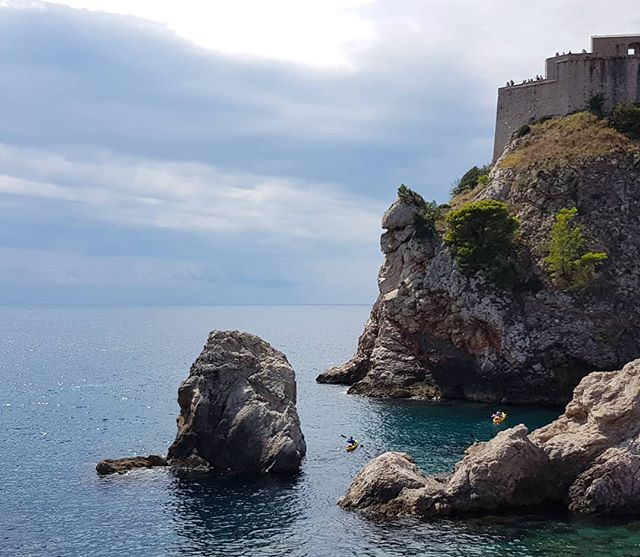 The sky and the sea. ☁️🌊What's not to like 💎 #Dubrovnik #liveloveexplore #skyandsea