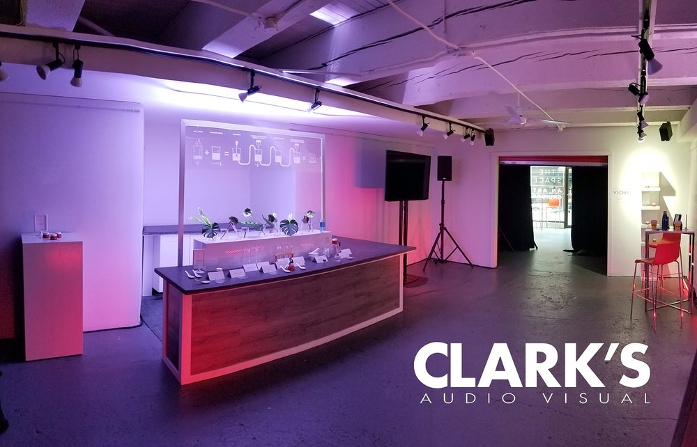 Clark's Audio Visual Launch Product Event