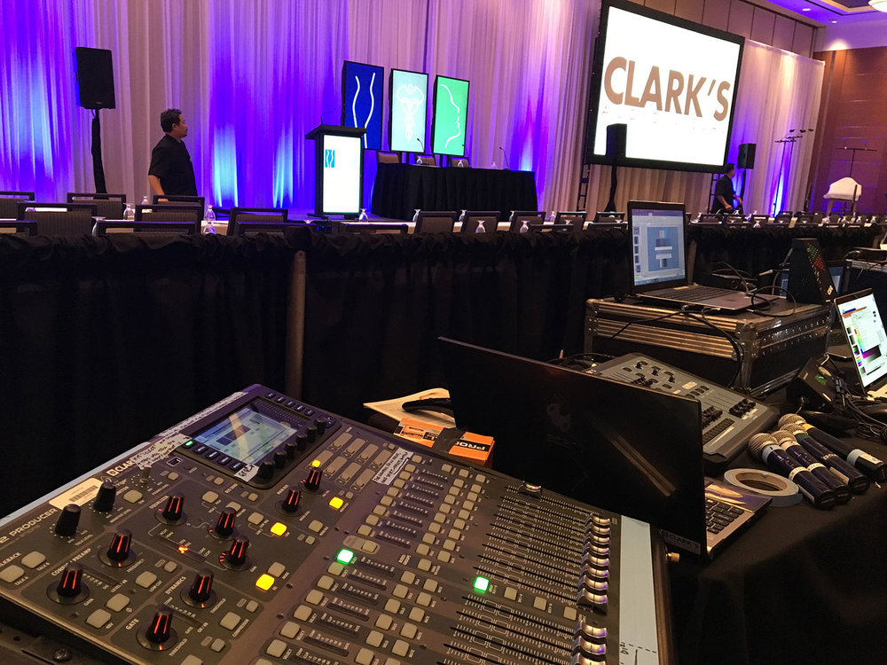 Clark's Audio Visual Medical Conference
