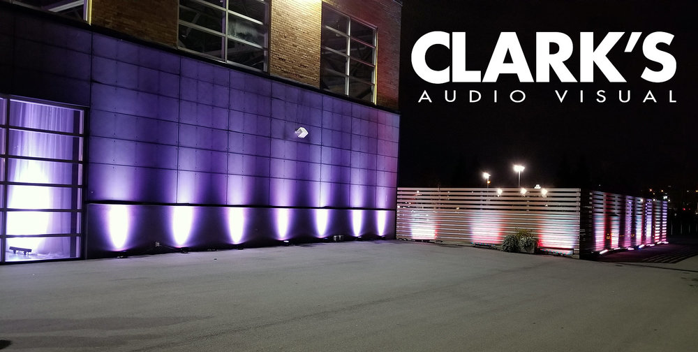 Clark's Audio Visual Light rentals
