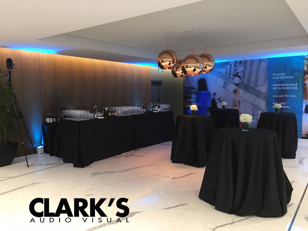 Clark's Audio Visual Rentals