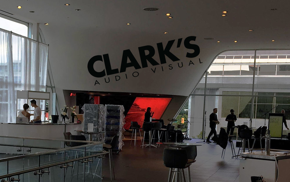 Clark's Audio Visual Brand Recognition Event