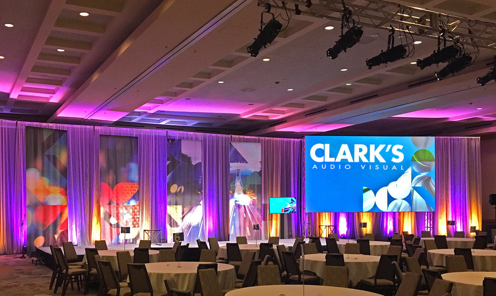 Clark's Audio Visual Conferences