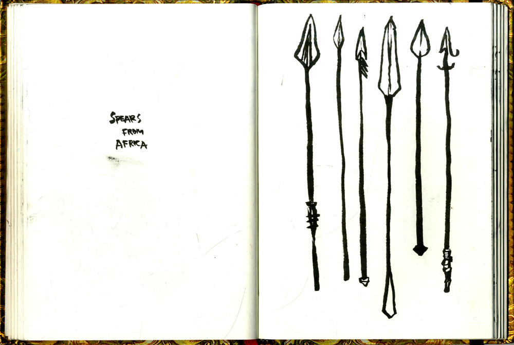 Spears from Africa