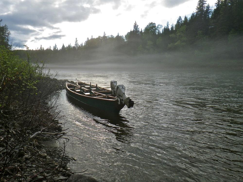 Les embarcations sont prêtes pour l'ouverture de la saison.