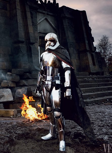 Gwendoline Christie as Captain Phasma