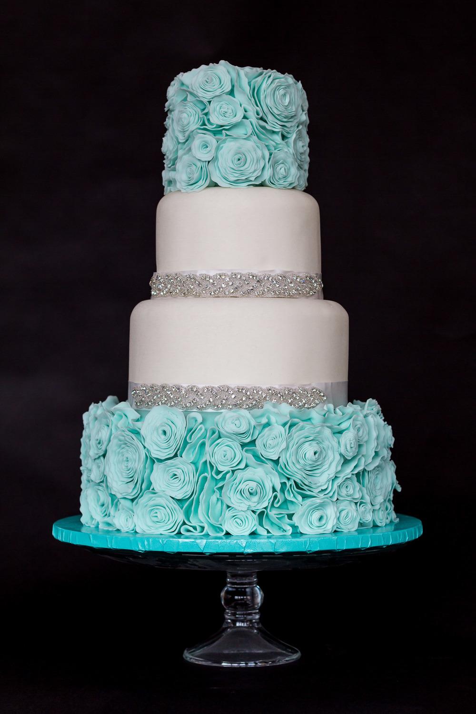 Wedding Cake1 - Fondant Ruffle Bling Cake.jpg