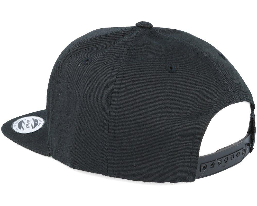 Logo Flat Bill Snapback Hat \u2014 Gallows Bound