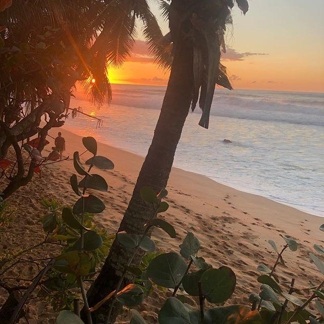Hawaii No Ka Oi #sunset #pipeline #ThanksUncleMicko and @damovideo