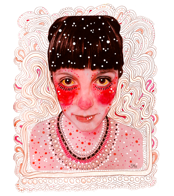 Self Portrait, Pink