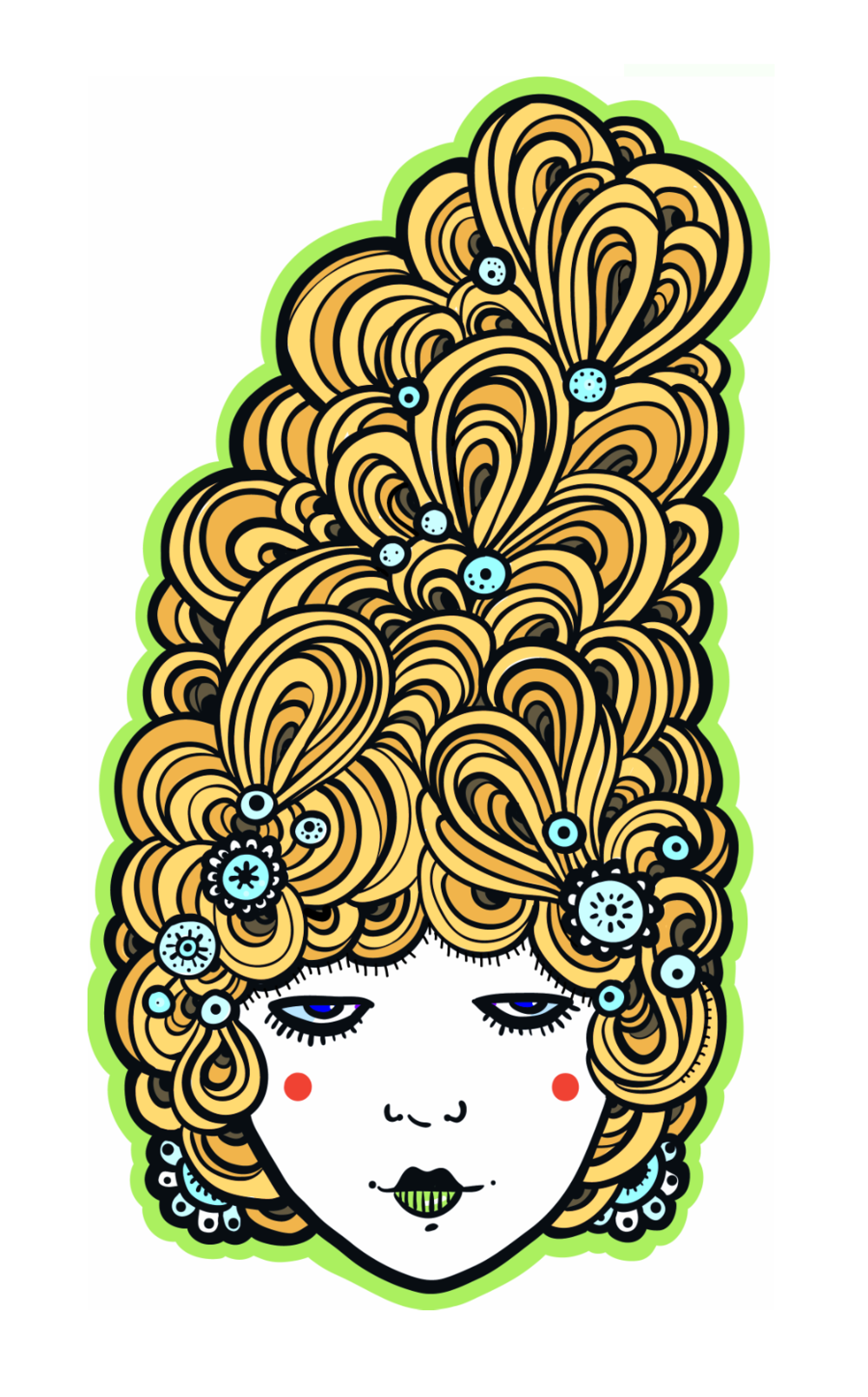 Hair: Marie