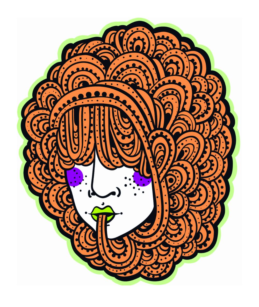 Hair: Ginger