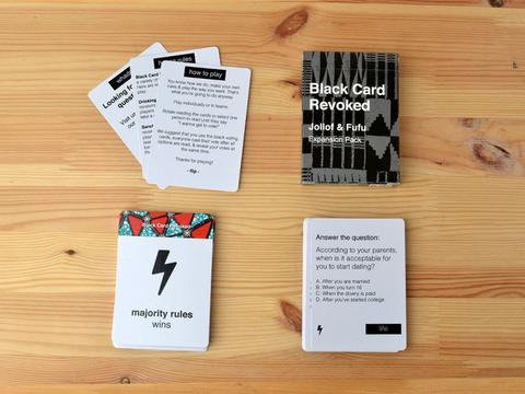 BLAK CARD REVOKED:Jollof & Fufu