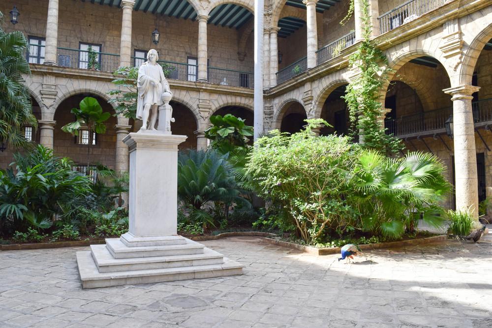Courtyard of El Palacio de los Capitanes Generales