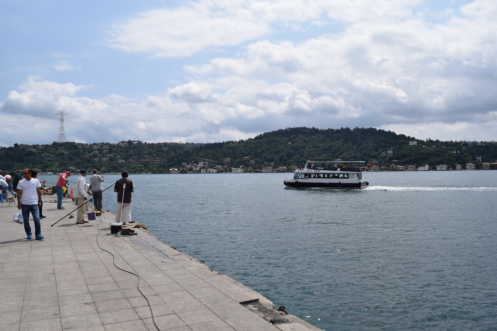 Fishing in the Bosphorus