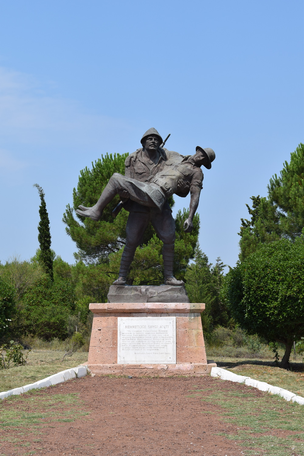 Respect to Mehmetçik Monument