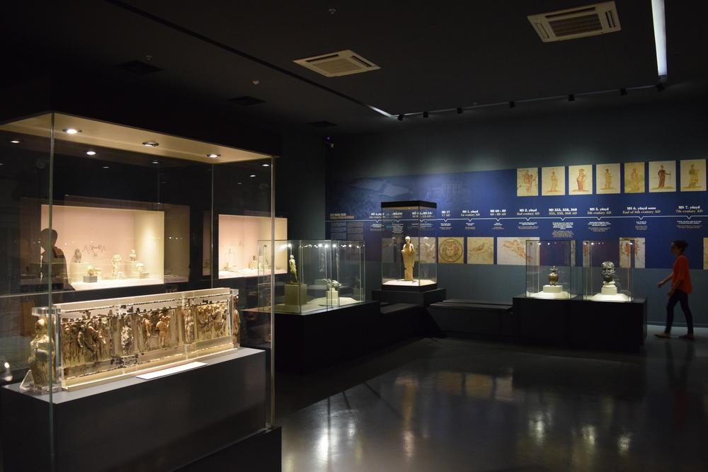 Displays at the Ephesus Museum