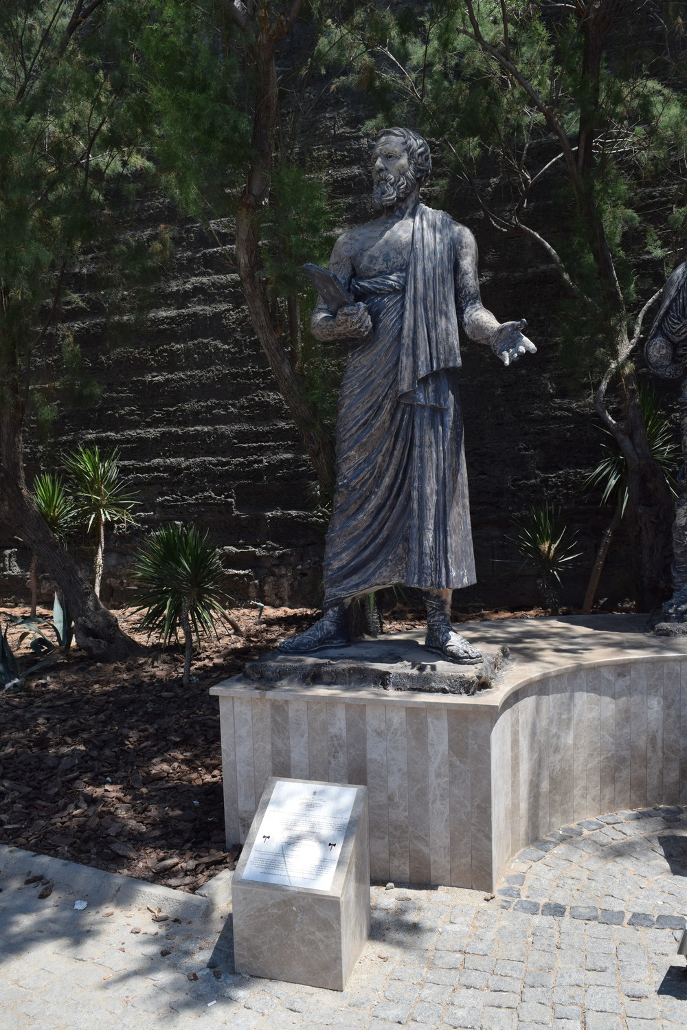 Statue of Herodotus in Bodrum