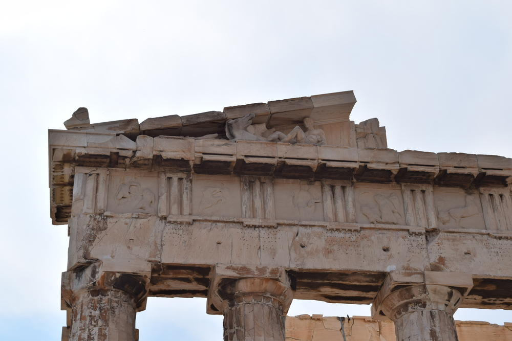 Details of the Parthenon