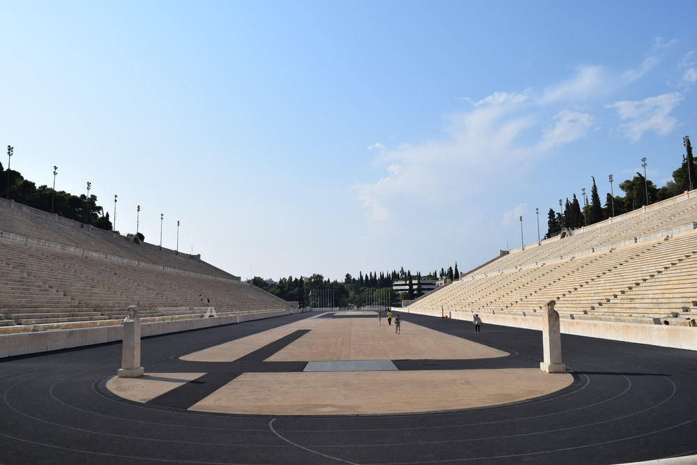 View of Panathenaic Stadium from the original royal throne