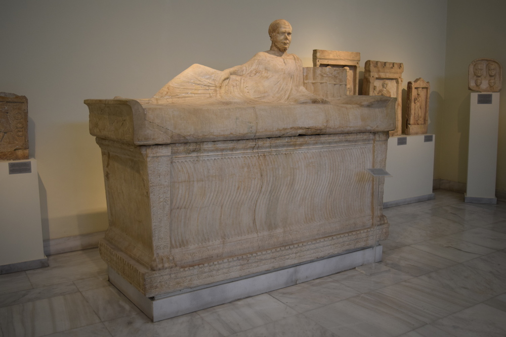 The recycled sarcophagus