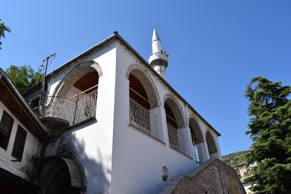 The mosque in Gjirokastër