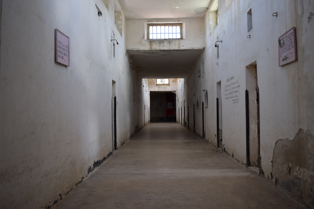 Hallway of the castle prison
