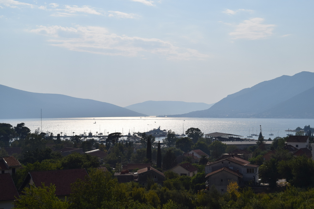 Bay of Kotor as viewed from Tivat