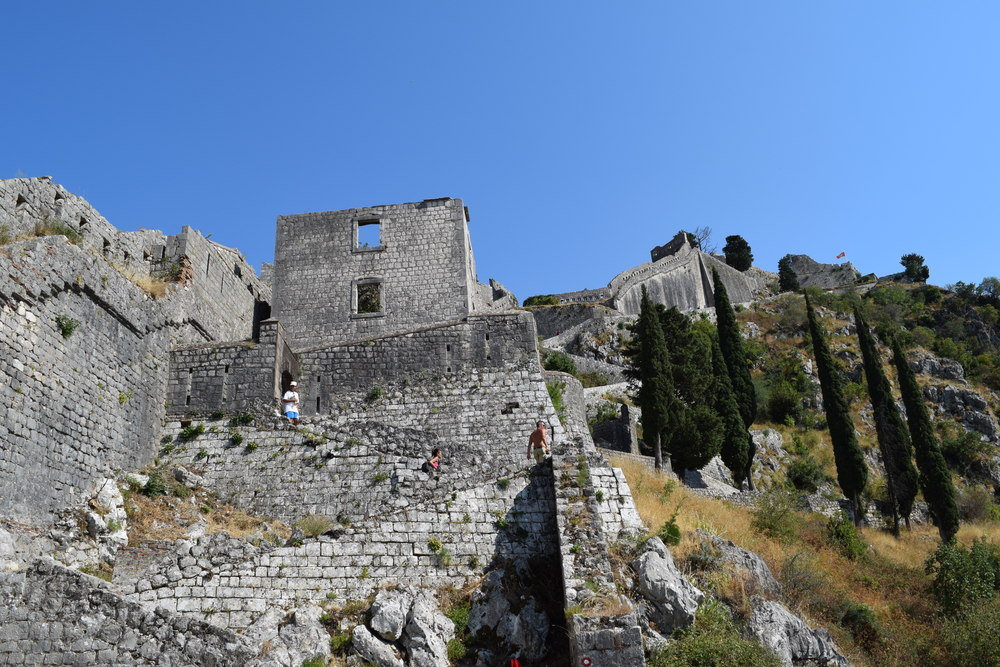 Walls up Kotor