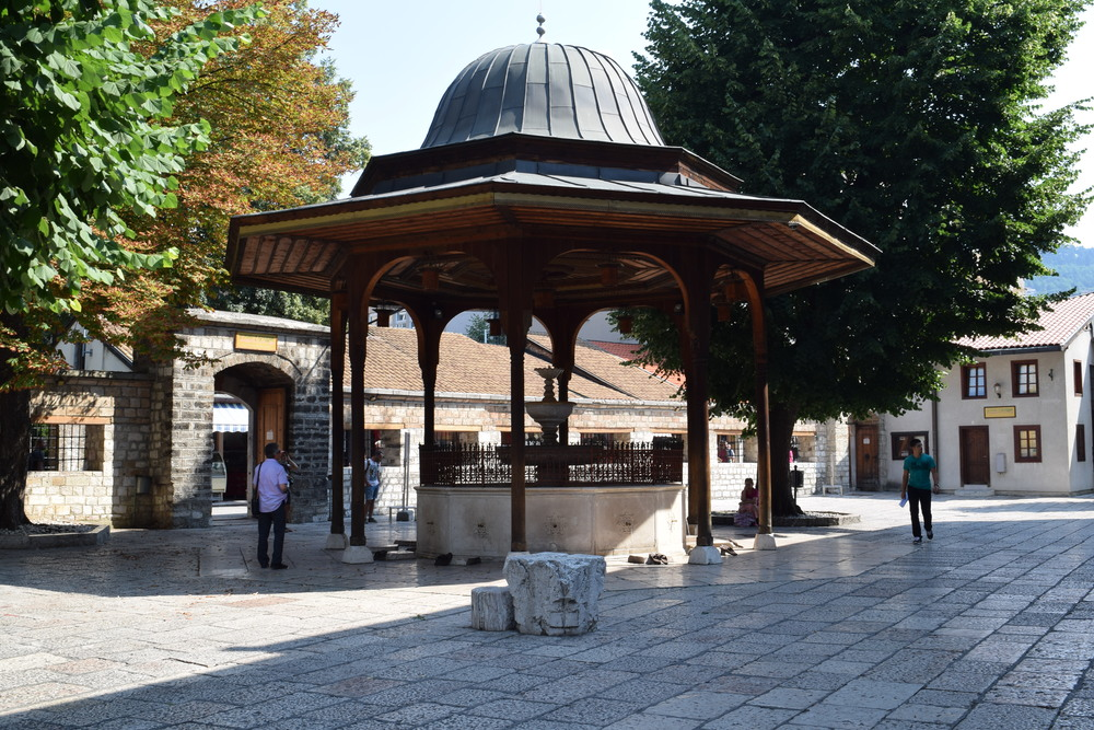 Fountain at Gazi Husrev-beg Mosque