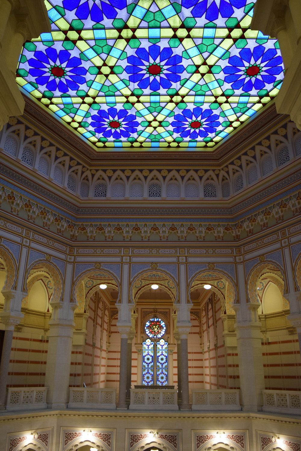 Sarajevo City Hall Glass