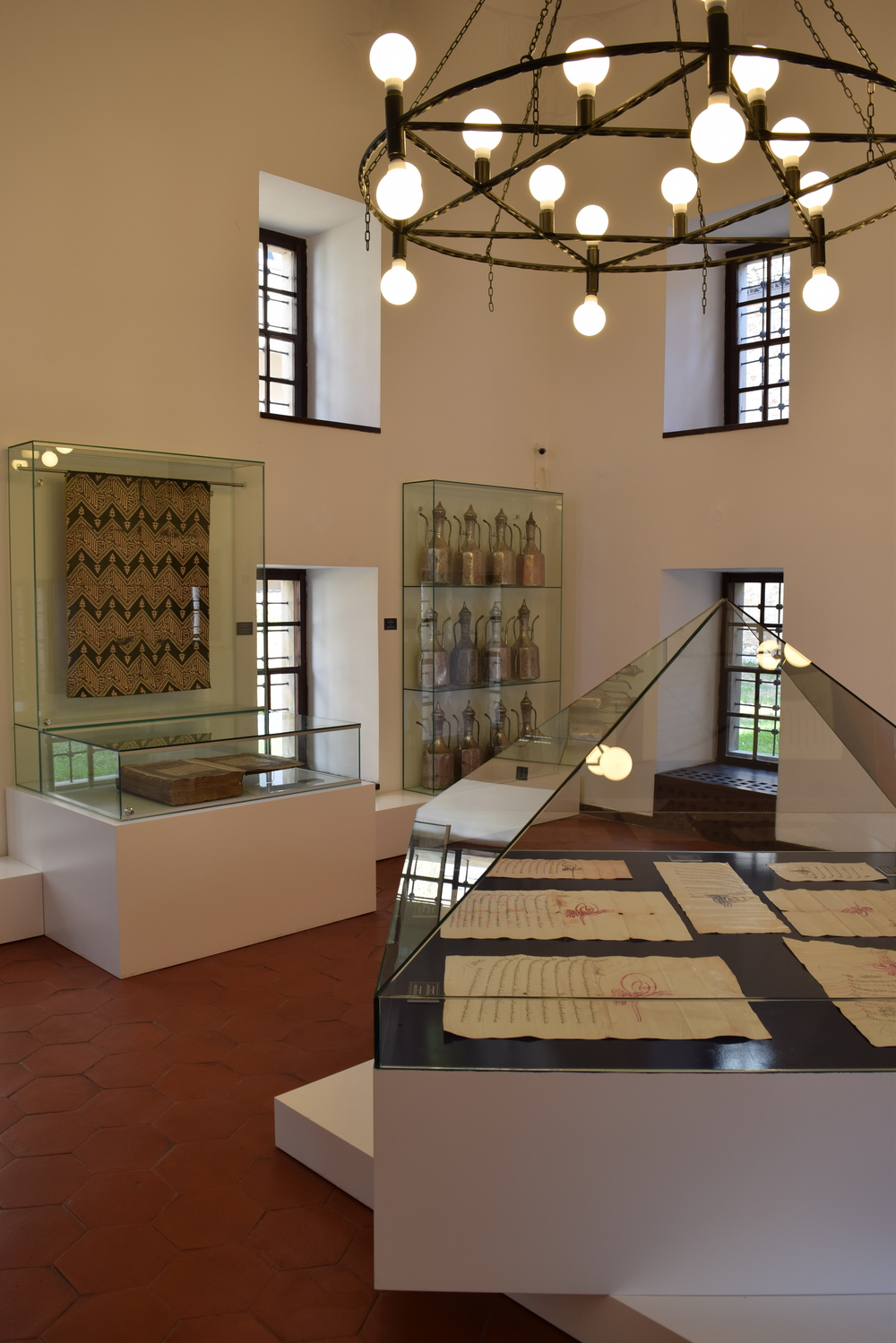 The madrasa provided for by the endowment of Gazi Huzrev-beg, an early Orroman governor of the area, serves as a museum documenting the legacy of the endowment.