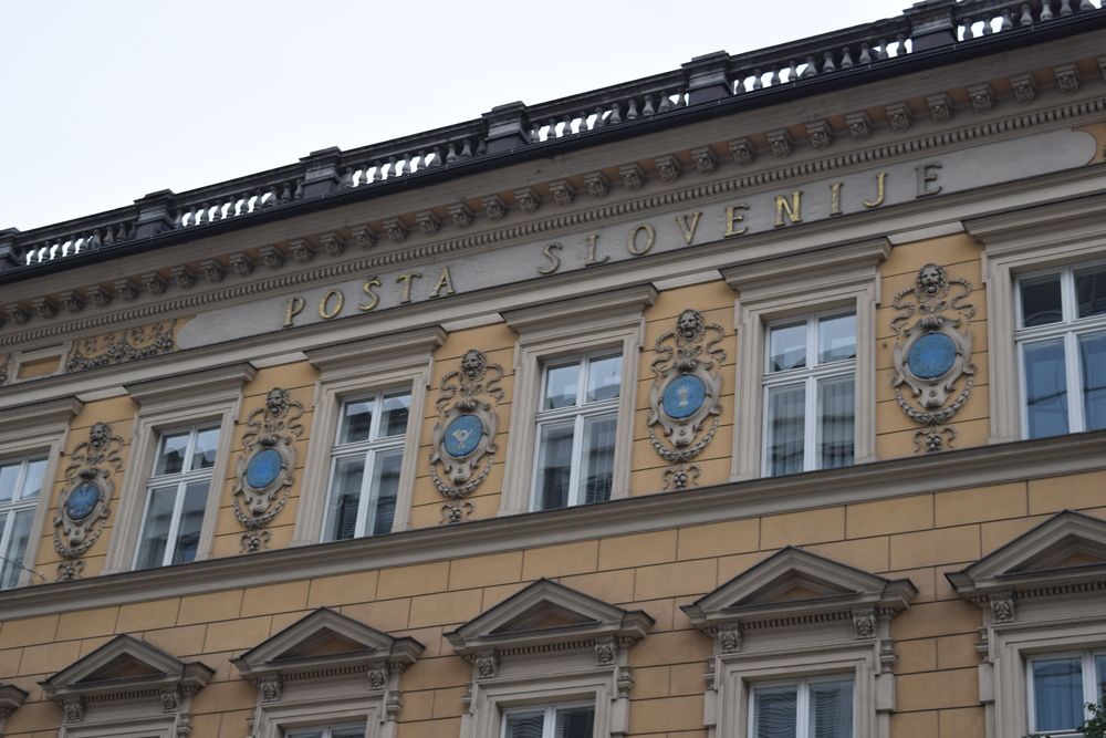 Main post office in Ljubljana