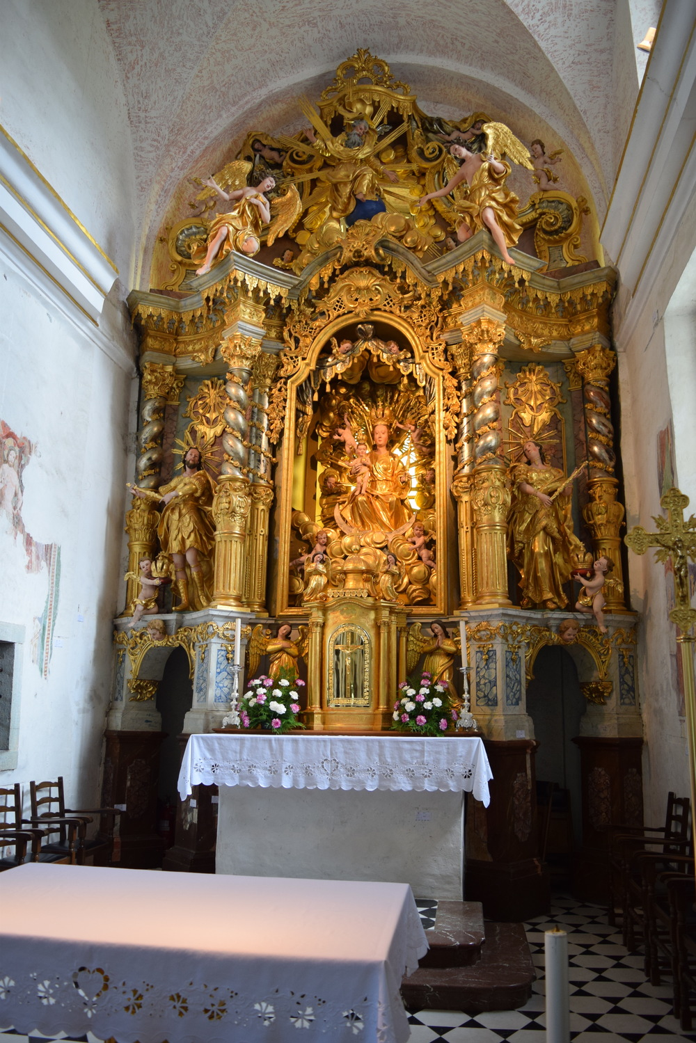 Altar at the church