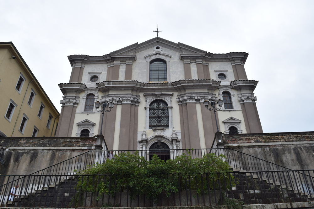 Exterior of the Cathedral of St Justus