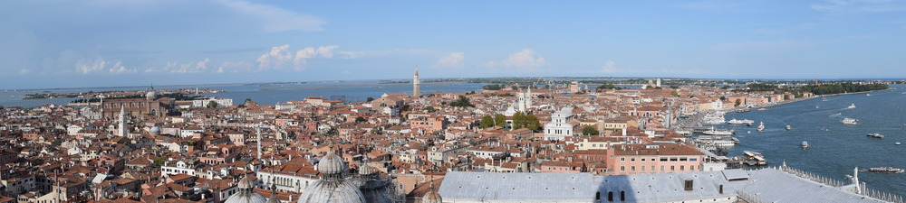 Venice viewed from the Campanile di San Marco