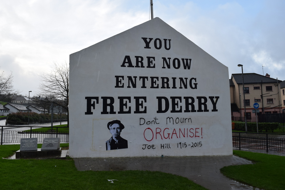 Iconic Free Derry Mural
