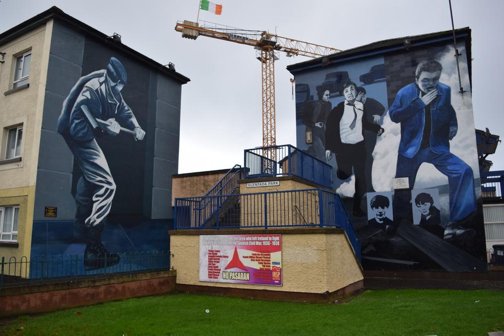 Bogside Murals, Derry