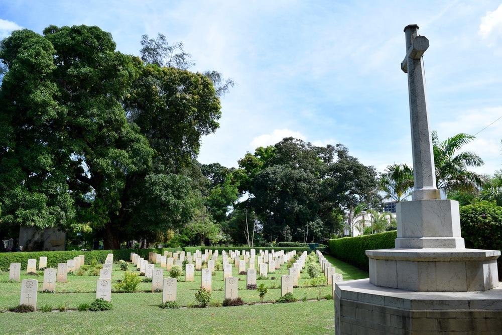 Second World War graves