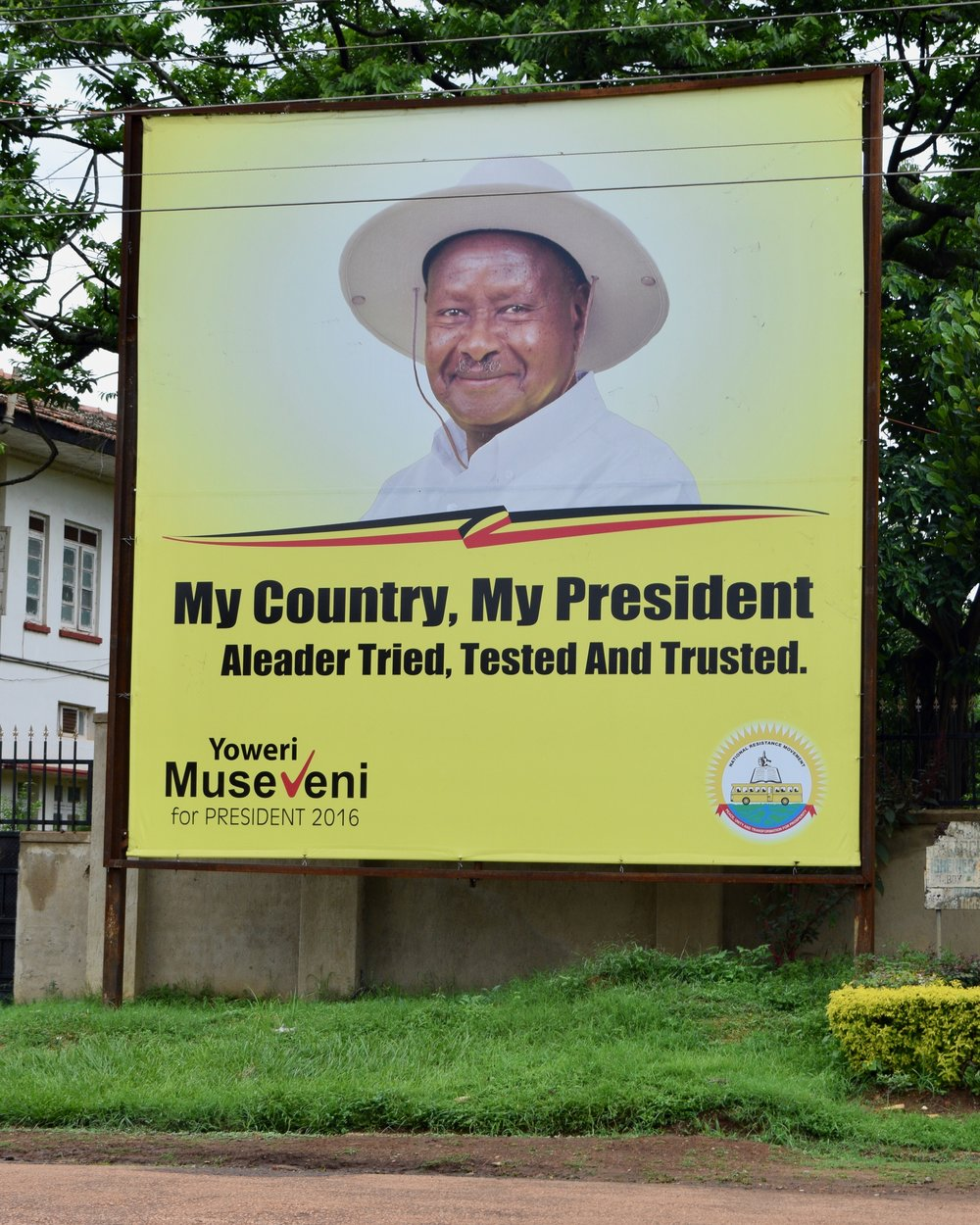 "Uganda's Yoweri Museveni, president since 1986, extended his rule in an election held in early 2016. An  EU report  states that the election ""fell short of international standards for the conduct of democratic elections at key stages."""