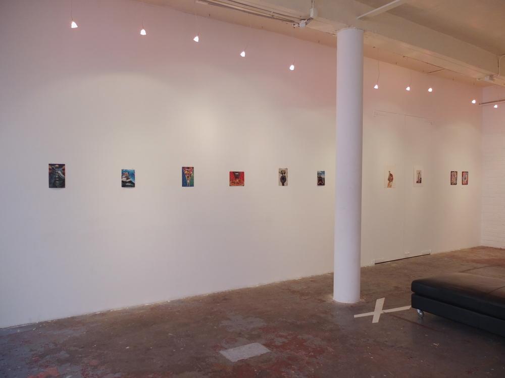 Splitting Image, installation view, Tinning Street Presents, 2012.
