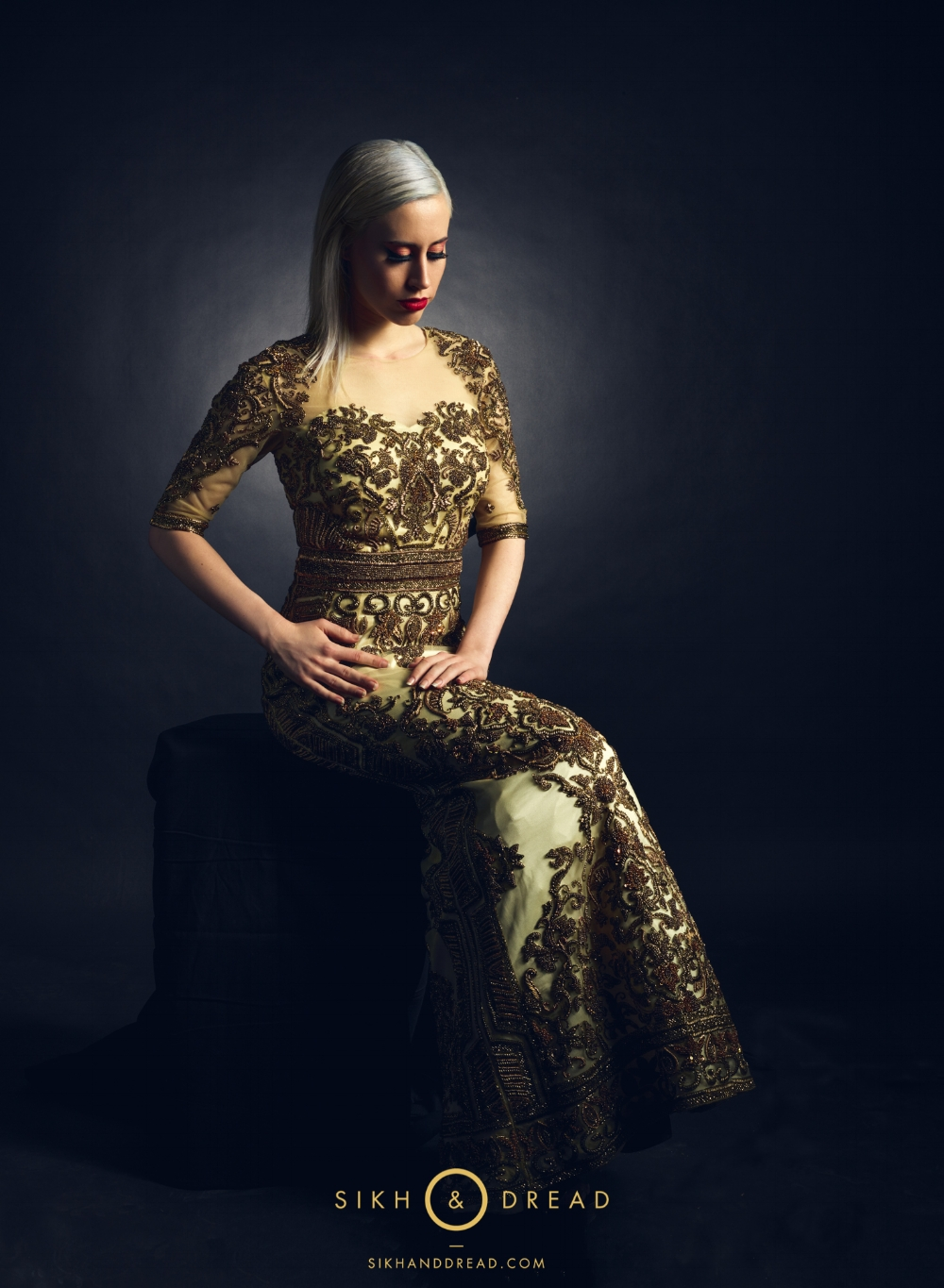 High Fashion Indian Bridal Dress Editorial 101