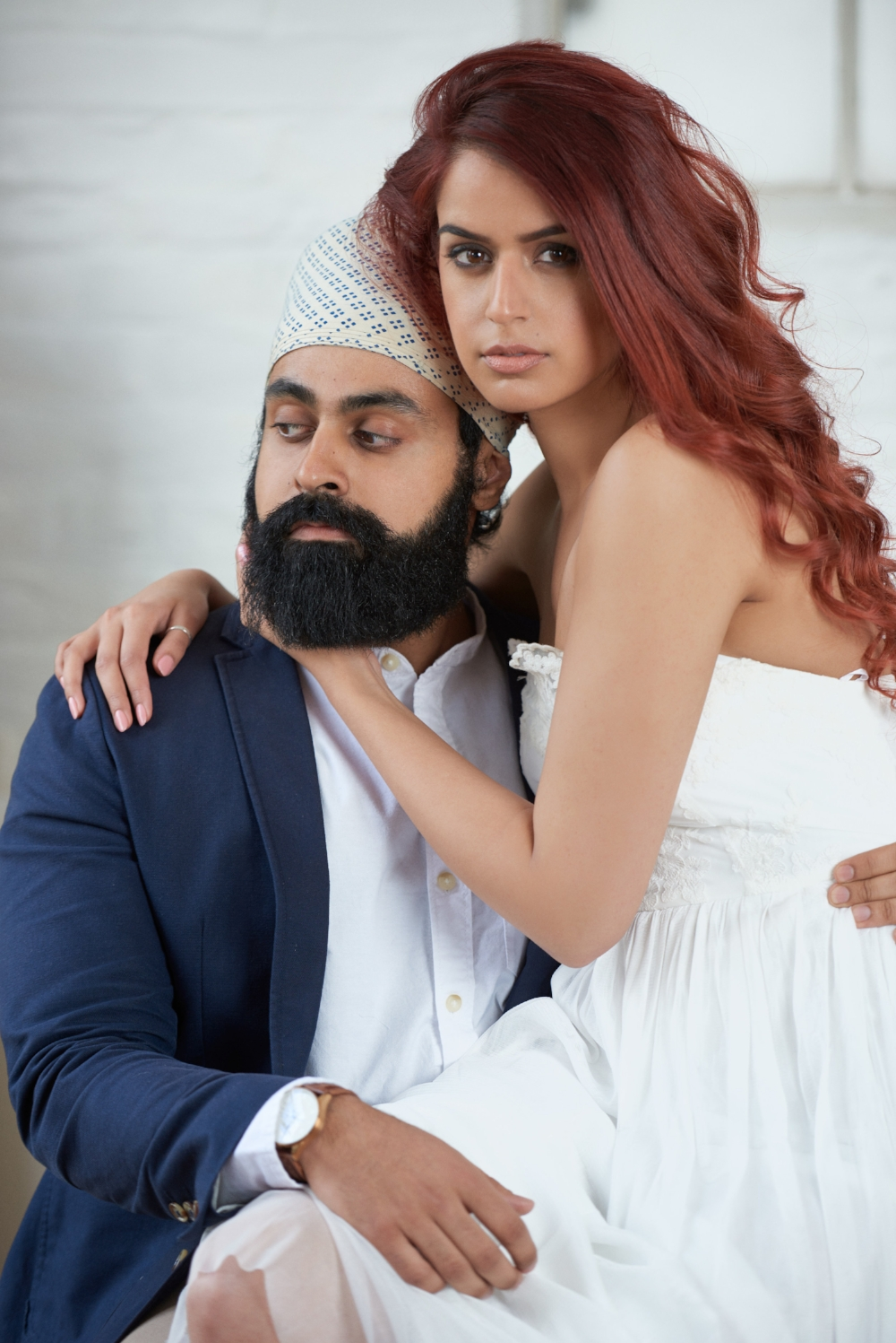 Jaspreet & Indy Editorial style asian wedding photography 101