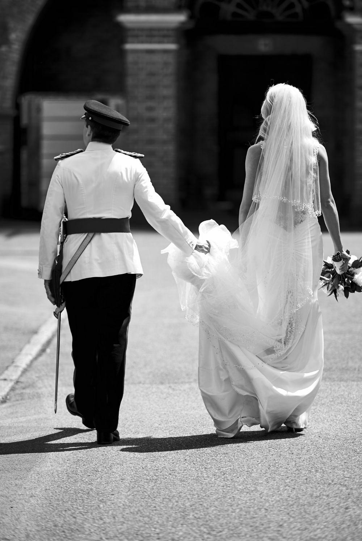 Sandhurst Wedding Couple