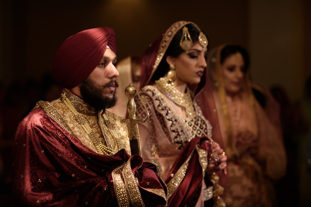 Indian Sikh Wedding photography birmingham
