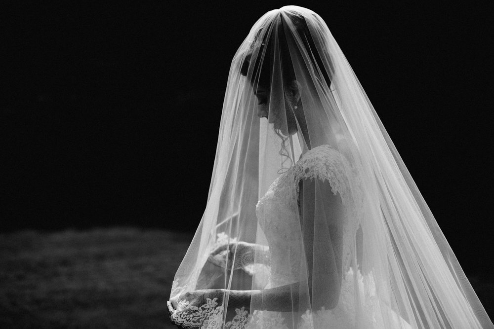 ariana garden bride portrait hindu wedding photography