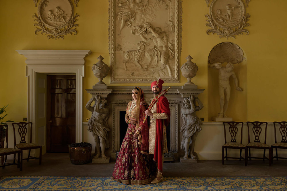Asian Wedding Photography at Hagley Hall by Sikh and Dread
