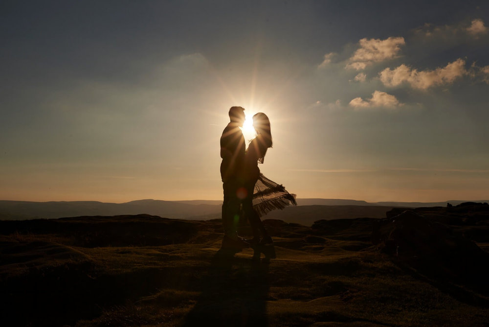 Indian Pre Wedding Shoot at Peak District by sikhanddread