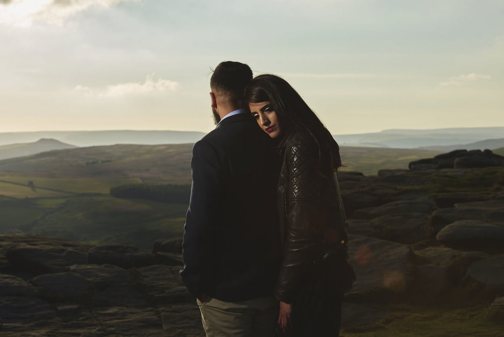 Indian Wedding Photography in the peak district by sikhanddread